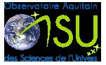 OSU OASU Observatoire Aquitain des Sciences de l'Univers