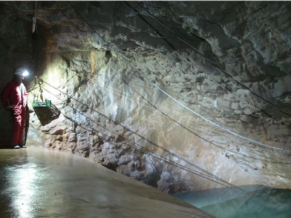 Le barrage souterraine de Port-Miou
